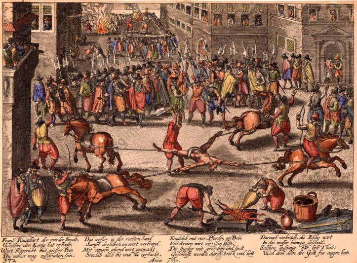 Hinrichtung François Ravaillac, 1610 - Execution of François Ravaillac, 1610 -