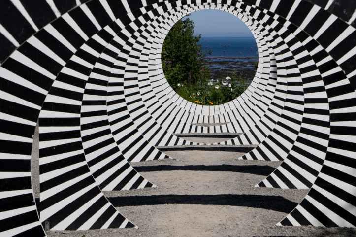 black and white illusion