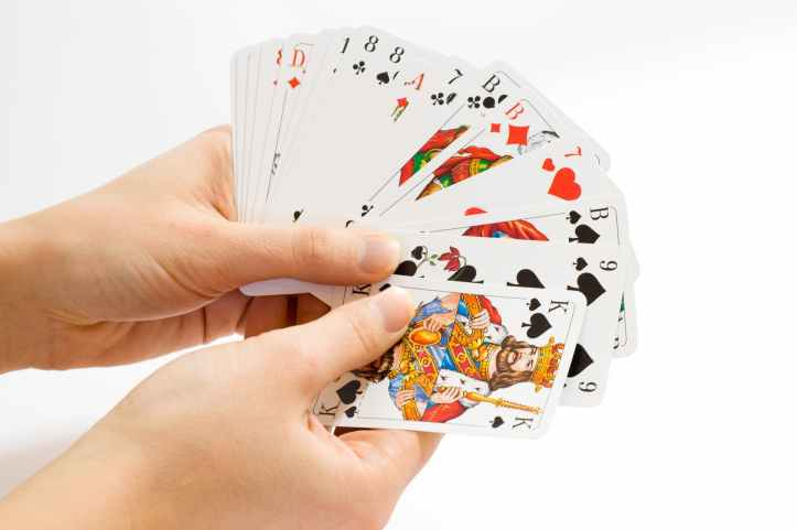 game deck cards shuffle