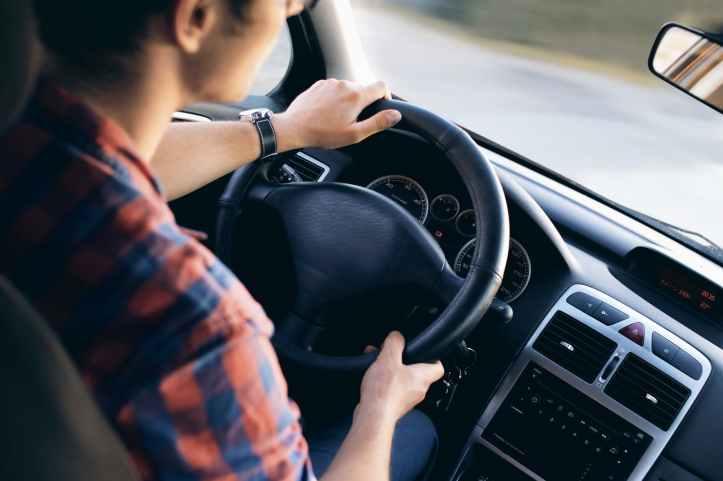adulte automobile brouiller chauffeur