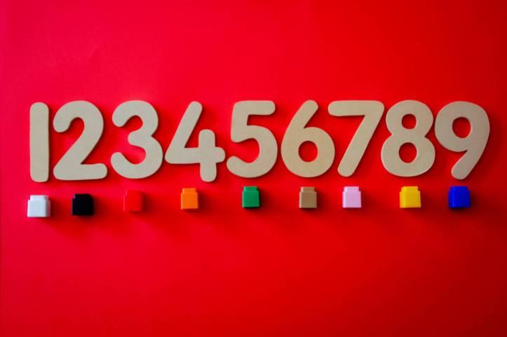 chiffres colore compter concevoir