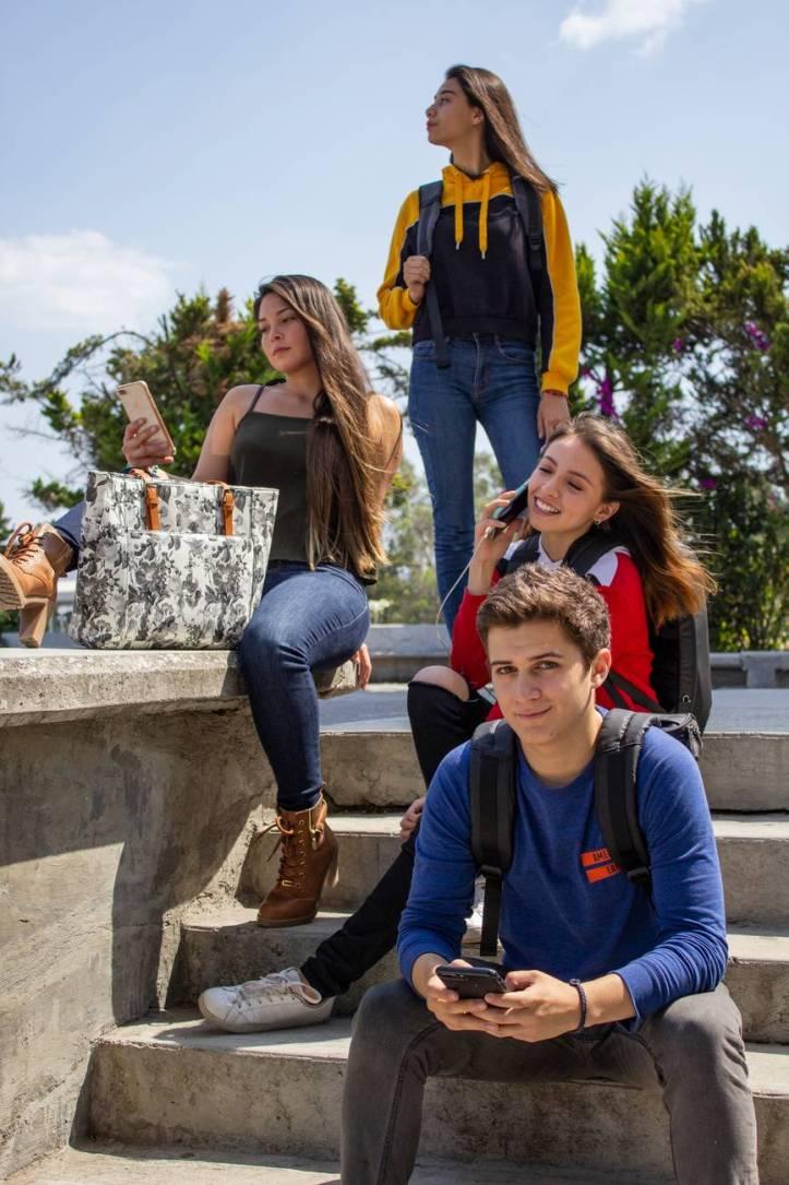 adolescents amis amitie amusement