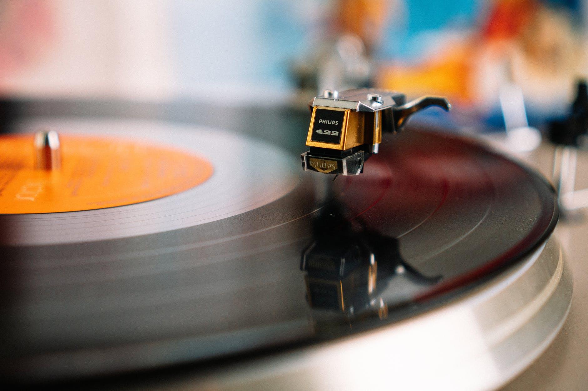 art retro brouiller musique