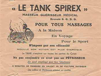 Tank Spirex