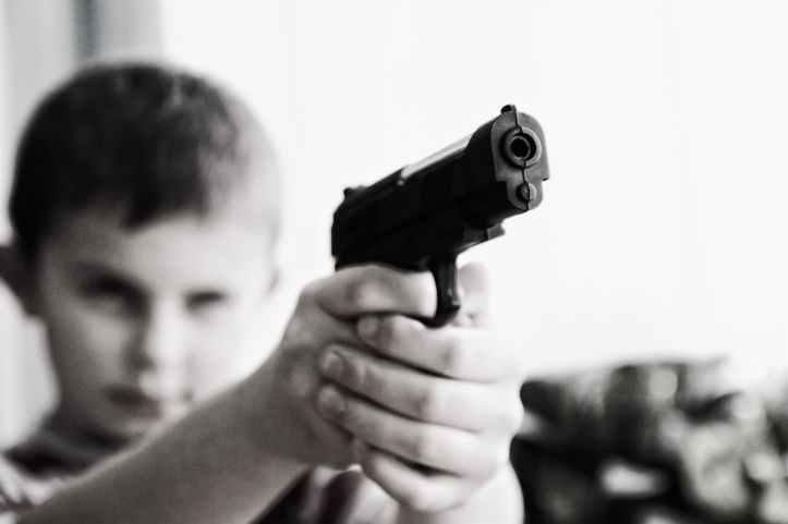 arme arme a feu arme de poing brouiller