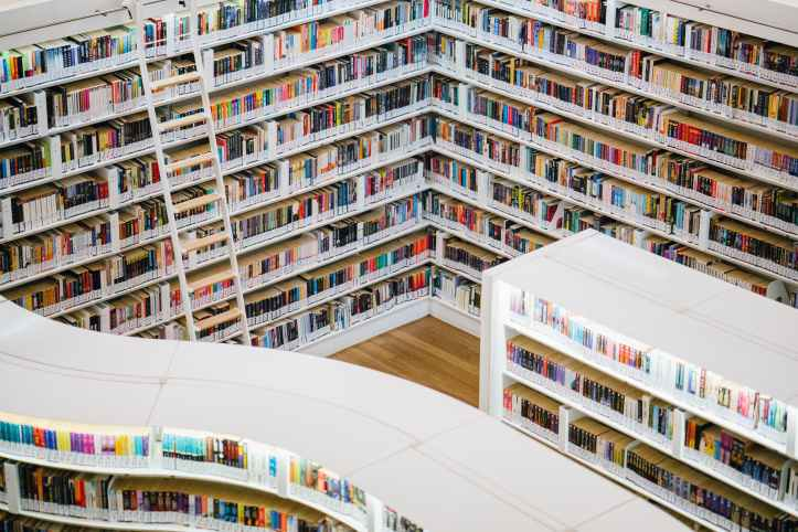 photo de la bibliotheque